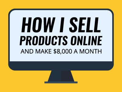 How i sell products online